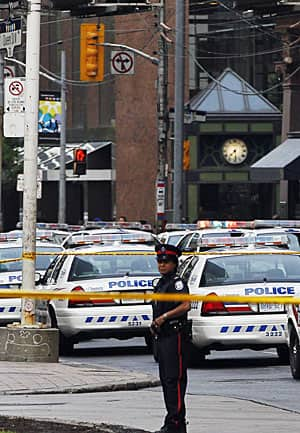 Toronto police have been told to flatline their 2013 budget, which Chief Bill Blair warns will lead to fewer officers on the streets, a common dilemma facing municipalities across the country.