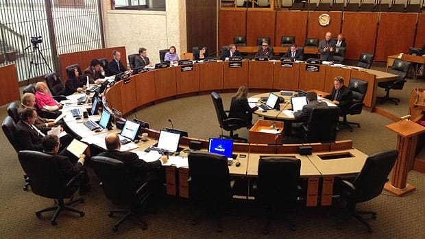 Winnipeg city council will meet on Jan. 29 to review proposed amendements to the 2013 draft budget.