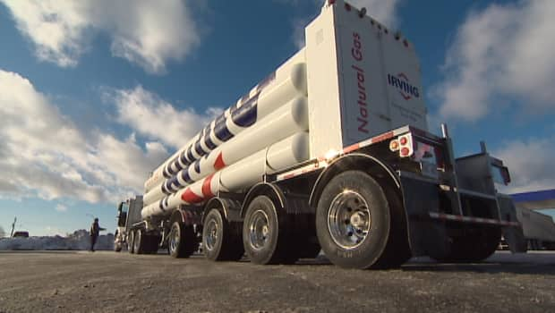 The nearest pipeline to Acadia University is more than 100 kilometres away, but in April CNG will be trucked to the school.