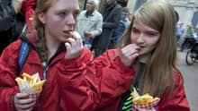 Fries with toppings from fast food chains had more than 1,500 milligrams of sodium.