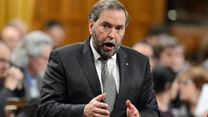 NDP Leader Tom Mulcair says his party is seeking to clarify ambiguity in the Clarity Act, which sets conditions for a referendum and negotiations for separation from Canada.