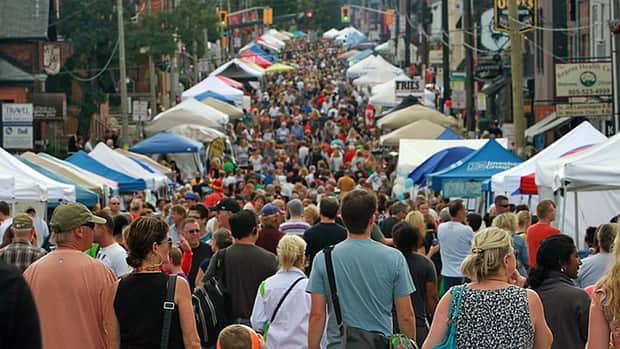 Organizers say policing costs for the Locke Street Festival have gotten so high that they will have to scale down the festival in 2013.