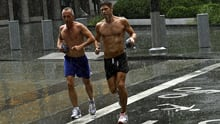 Evidence suggests moderate exercise could change men's physiology to improve testicular health, an expert says.