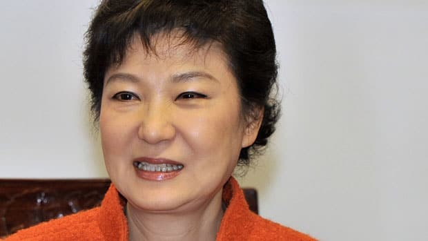 South Korea's 1st female president Park Geun-hye will take office Monday amid concerns over North Korea's unspecified warnings.