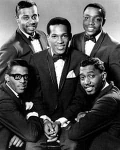 The Temptations first formed in 1960 and had a long list of different performers over the years. There is only one original surviving, Otis Williams, bottom right.