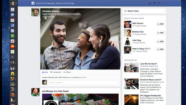 Photos gain more prominence in the redesigned News Feed that Facebook started rolling out on Thursday.