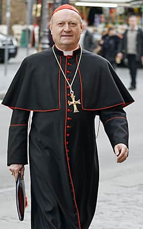 The most interesting man in the church? Cardinal Gianfranco Ravasi, 70, president of the Pontifical Council for Culture.