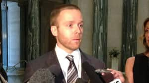 Howard Willems' stepson, Jesse Todd, says he is please with Saskatchewan move on reporting asbestos in public buildings.