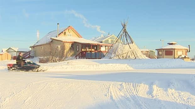 The community of Behchoko, N.W.T., is looking to get a $9 million loan for completing its new sportsplex.