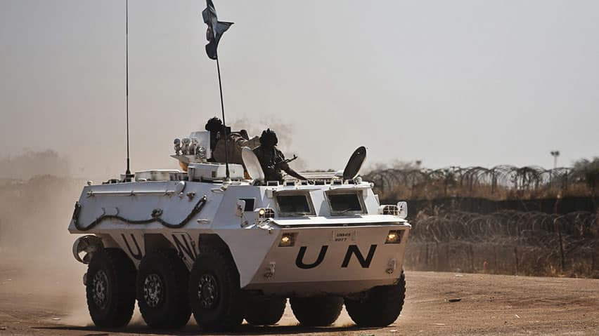 The top UN envoy in South Sudan, Hilde Johnson, said in a statement that five peacekeepers and seven civilians working with the UN mission were killed. She said at least nine additional peacekeepers and civilians were injured and some remain unaccounted for.