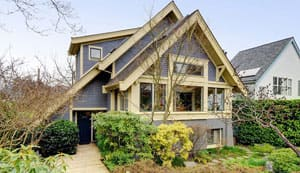 This quaint house is considered a luxury property in Vancouver, where the starting price for luxury homes  can be as high as $4 million in neighbourhoods like the West Side.