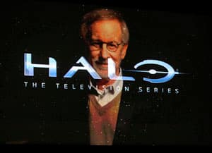 Microsoft announced that Steven Spielberg will be producing a premium live action TV series based on the Halo game franchise.