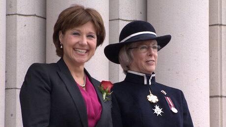 Christy Clark renews promise of 4 balanced budgets