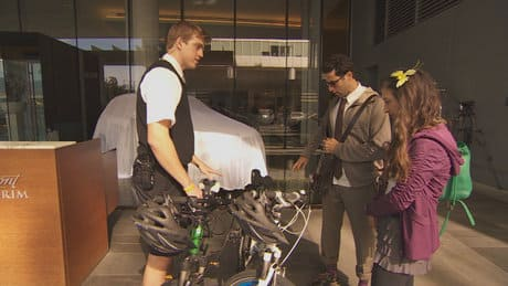 Vancouver hotel offers bike service