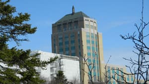 Confederation Building is the seat of the provincial government in St. John's.