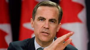 Bank of Canada governor Mark Carney predicts jobs lost during the economic downturn will never return. (Canadian Press)