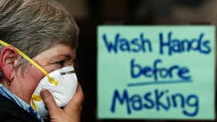 The design of protective masks to protect health-care workers improved after the SARS outbreak in 2003 that killed 800 people around the world, including 44 in Toronto.