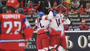 Czechs Capture World Hockey Gold With Stunning 2-1 Win Over Russia