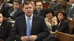 Federal Environment Minister John Baird in the House of Commons on Monday.