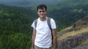 Saeed Malekpour, seen in this image posted on Facebook, has been sentenced to death in Iran.