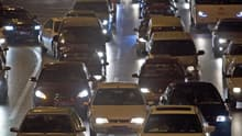 Traffic in Beijing in November. Factory orders for autos in China reached a record 1.5 million in January.