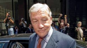 Conrad Black, seen in Chicago last summer, is hoping the Supreme Court of Canada will rule that his libel suit should be heard in an Ontario court.