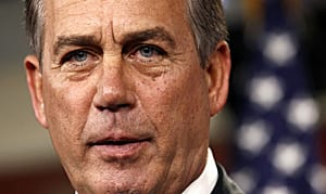 Republican Speaker of the House John Boehner had said his party wanted big budgetary concessions.