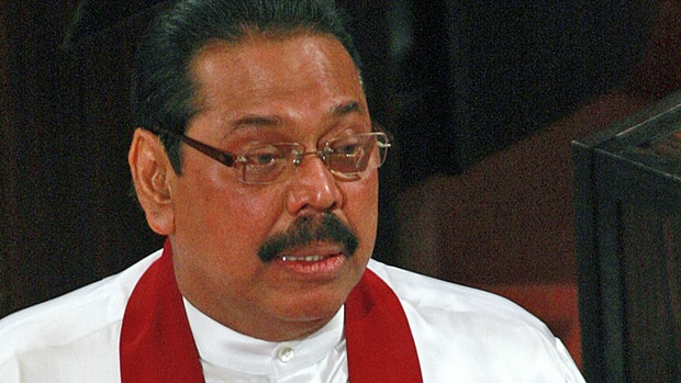Sri Lankan President Mahinda Rajapaksa says his armed forces followed international human rights law during their fight with separatist Tamil Tiger rebels.