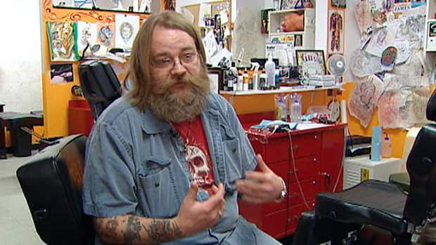 Greg Taylor of the Lucky 13 tattoos and piercings shop said most legitimate