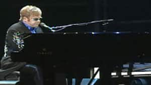 Elton John played to a sold out show in Sydney, N.S. Tuesday night.