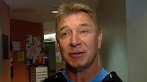 Rick Hansen began the P.E.I. portion of a Canada-wide tour  Wednesday.