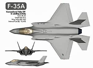 An early rendering of Lockheed-Martin's F-35 fighter, which Canada plans to buy. Lockheed-Martin