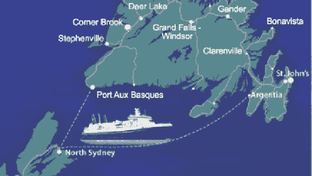 Marine Atlantic is cancelling two days of crossing between Argentia and North Syndey.