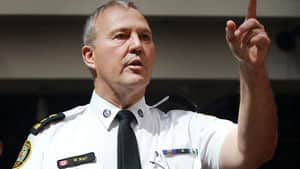 While Toronto city hall wants to freeze the police budget, Police Chief Bill Blair is arguing for a 2.3 per cent increase, mainly to put more officers on the street. This is the type of battle that's likely to proliferate across Canada.