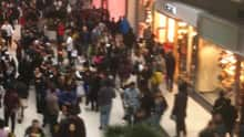It began looking a lot like Boxing Day early Monday, one one of the busiest shopping days of the year.