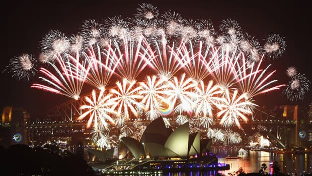 New Year's Eve celebrations underway