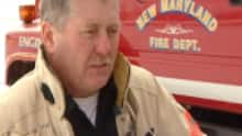 Fire chief Harry Farrell said he's concerned about recruiting volunteer firefighters in a more regional service.