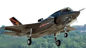Canada's purchase of the Lockheed Martin F-35 Joint Strike Fighter, seen here in an undated handout photo, is 'evolving', according to Julian Fantino, the associate minister of defence responsible for military procurement.