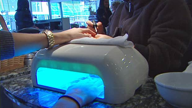 The lights used to dry nails after Shellac treatments emit UV light