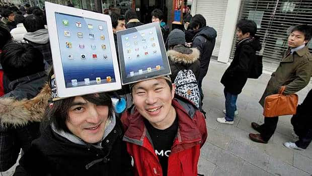 LATEST IPAD GOES ON SALE TODAY