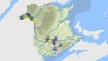 Emergency Measures Organization's River Watch has issued flood warnings in communities across western New Brunswick.