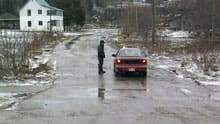 The flood waters in Perth-Andover have receded by about one metre since Saturday.