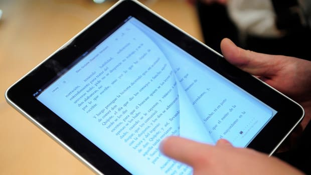 Some publishers says e-books could account for up to half of all book sales by 2014.