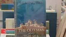 A rare first edition of Hemingway's The Old Man and the Sea will be sold as part of the CBC Calgary Reads book sale.