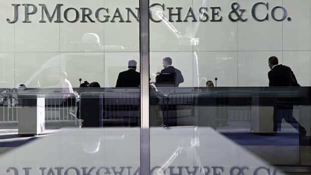 JPMorgan Chase says it lost $2 billion US in the past six weeks in a trading portfolio designed to hedge against risks the company takes with its own money.