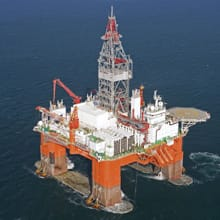 Statoil used the West Aquarius deepwater drilling rig for exploration activities at its Harpoon prospect.