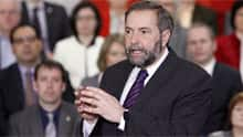 NDP Leader Tom Mulcair has angered western premiers with remarks about the impact of the oilsands on Canada's economy.