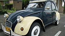 The Deux Chevaux is also a two-cylinder French car.