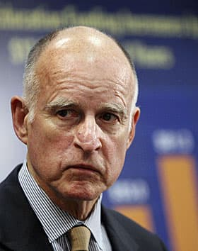 Too much democracy? Gov. Jerry Brown is asking Californians to agree to a sales tax increase in a referendum so he doesn't have to cut any more services.