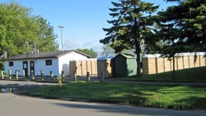 Thunder Bay has put portable toilets in place for residents so they can avoid putting strain on the city's sewage system.